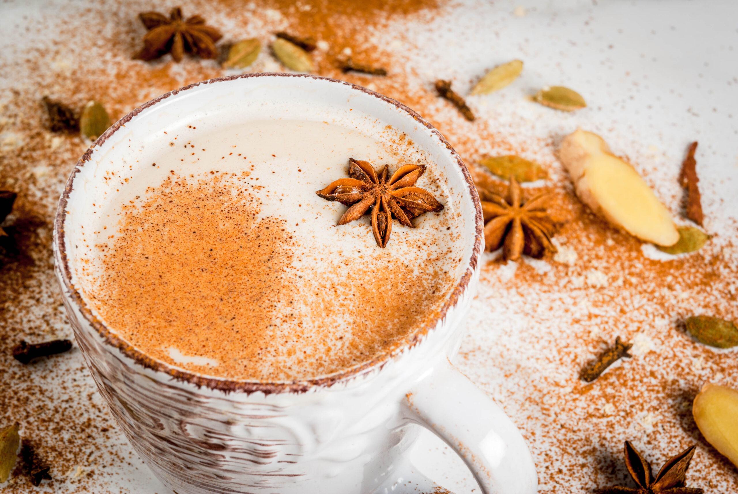 Chai tea in mug