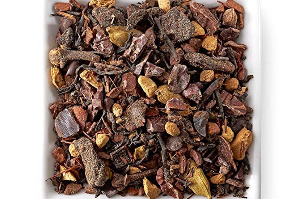 Chocolate chai black tea from Teavana