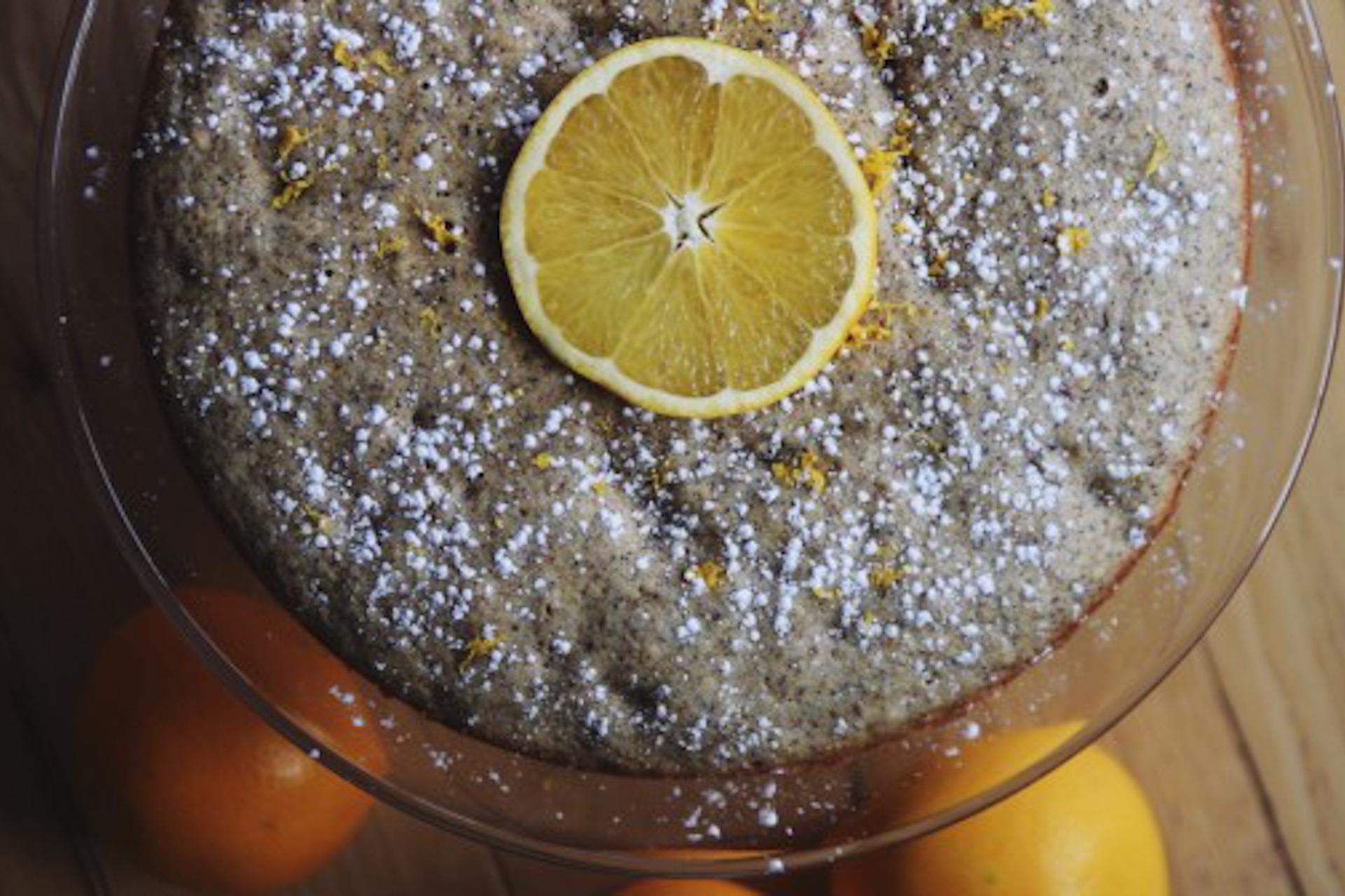 Darjeeling orange spice cake