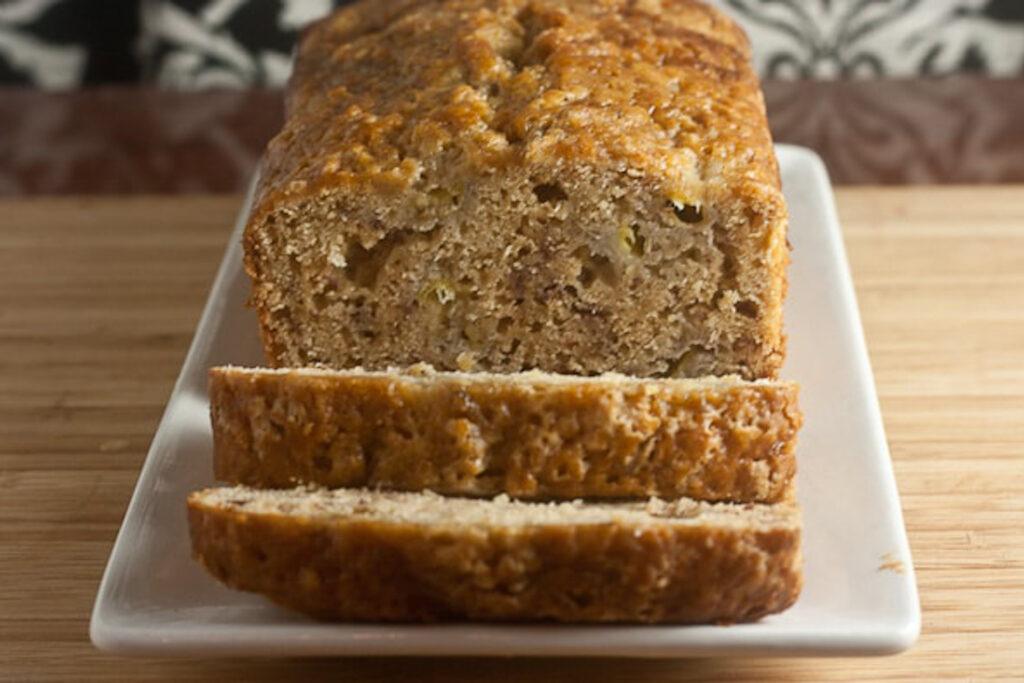 Earl grey banana bread