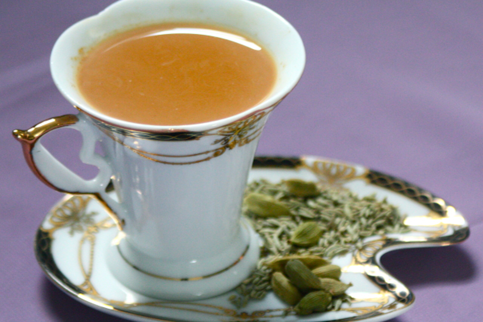 Fennel and cardamom tea