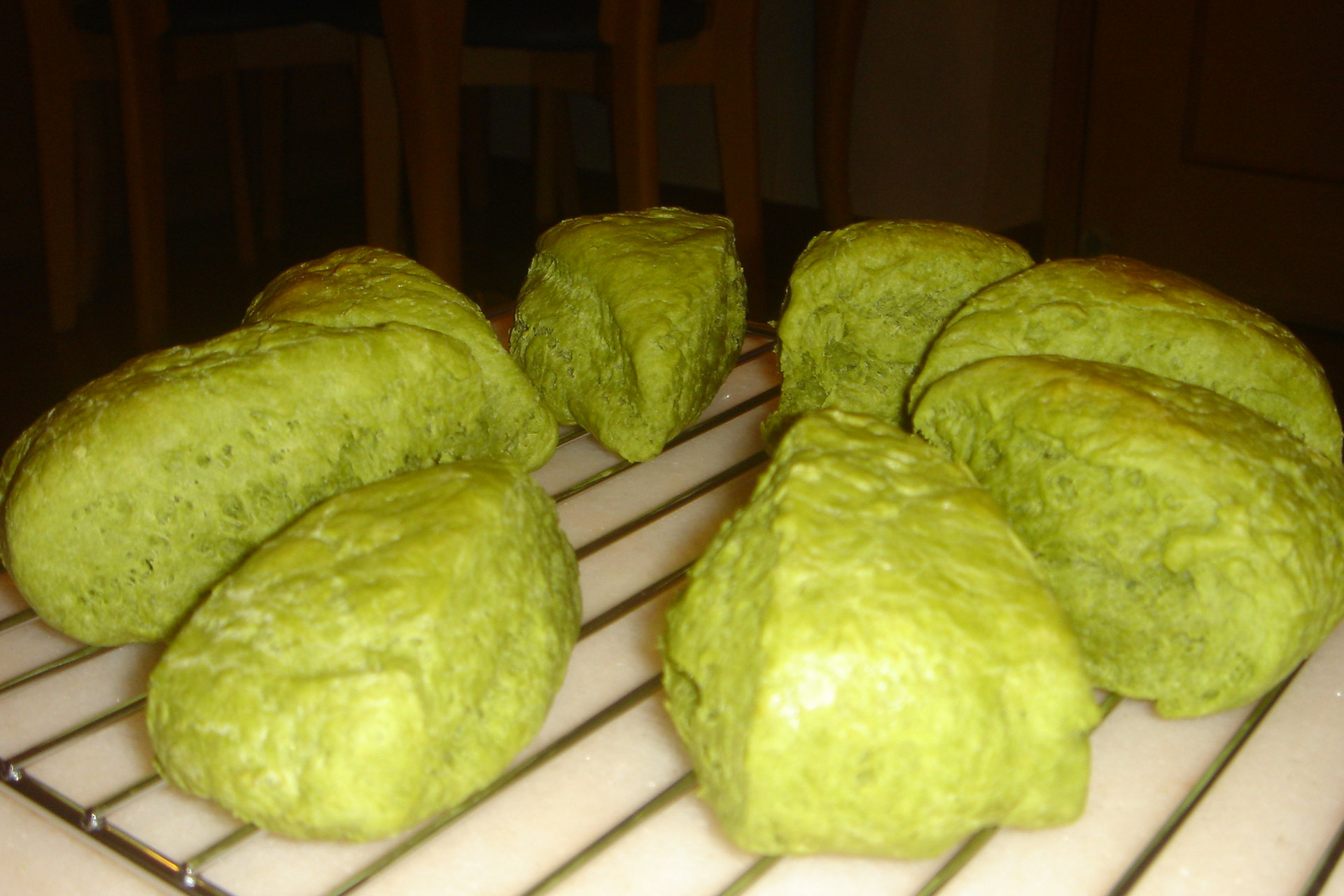 green tea scone