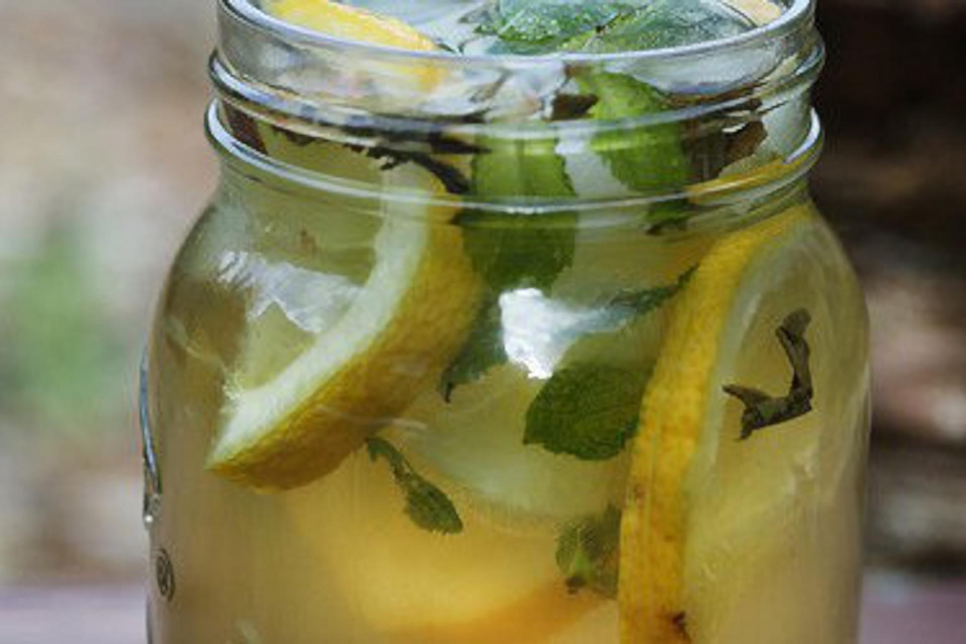 ice jasmine green tea