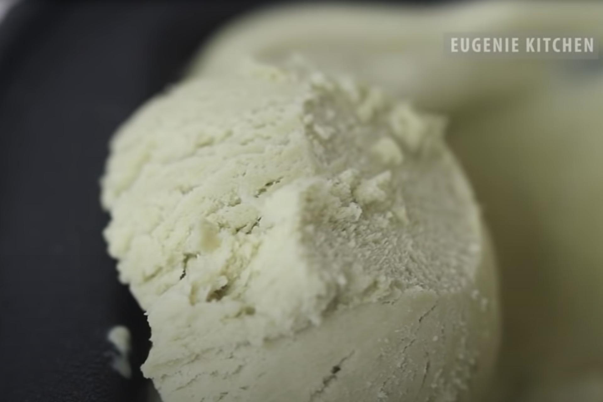 Matcha green tea ice cream